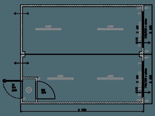 Büro Containeranlage Duo Typ-IM-07