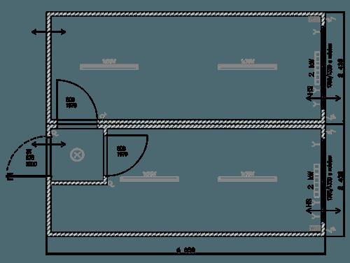 Containeranlage Büro Typ-IM-08