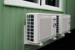 Technikcontainer klimatisiert
