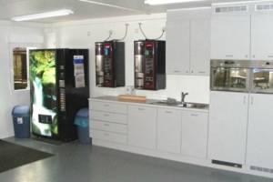 Bürocontainer mit Küche