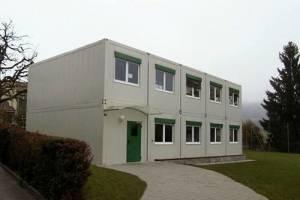bürocontaineranlage Mehrstock
