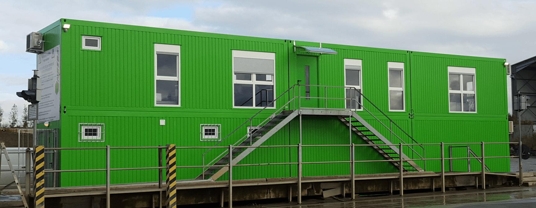 Bürocontaineranlagen