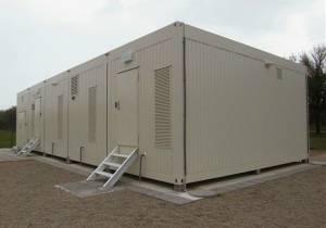 Technikcontainer für Baustellen mieten