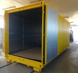 Lager- und Abrollcontainer